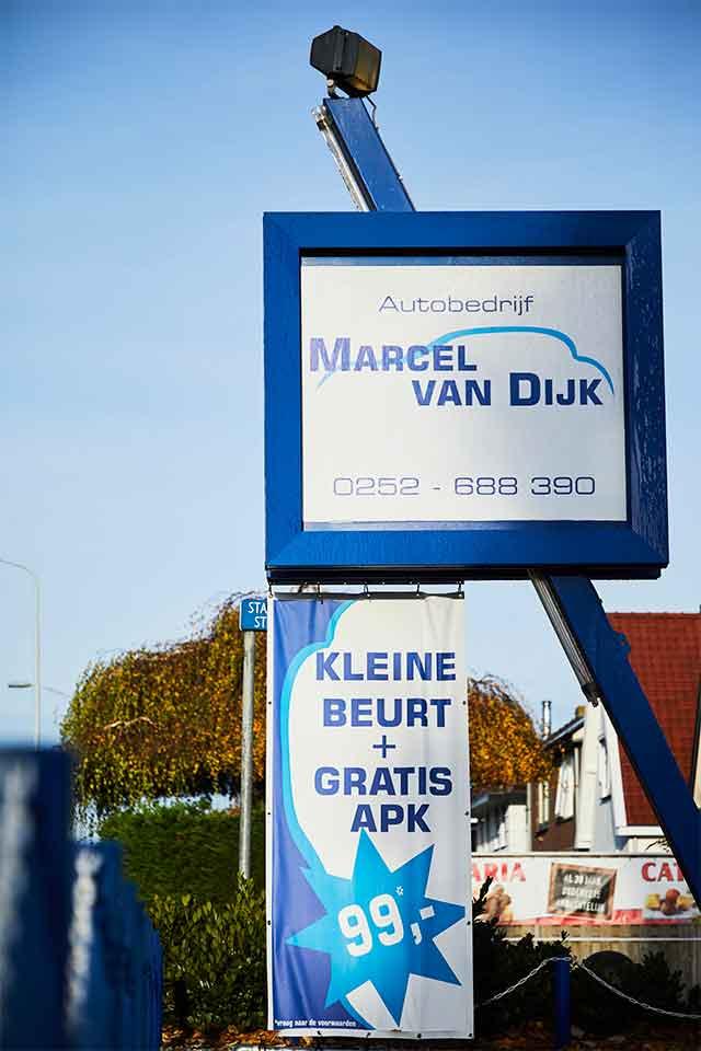 Autobedrijf Marcel van Dijk Showroom